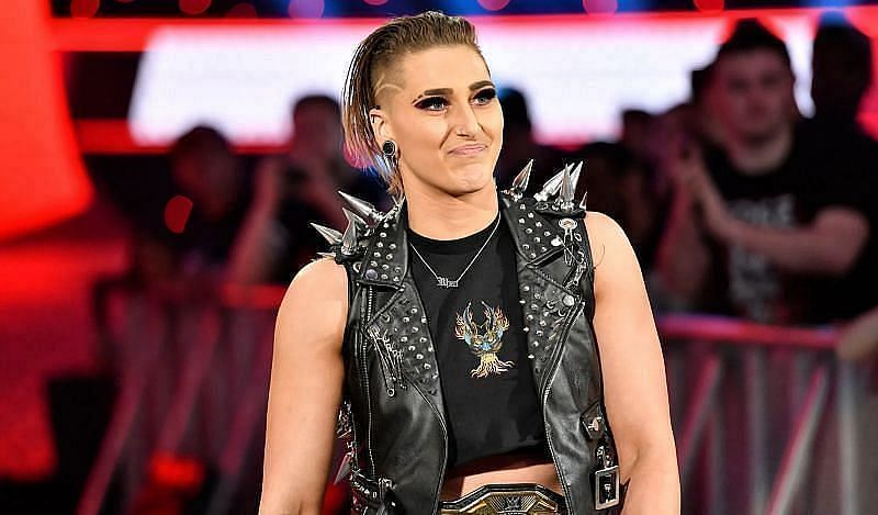 Raw Women's Champion Rhea Ripley