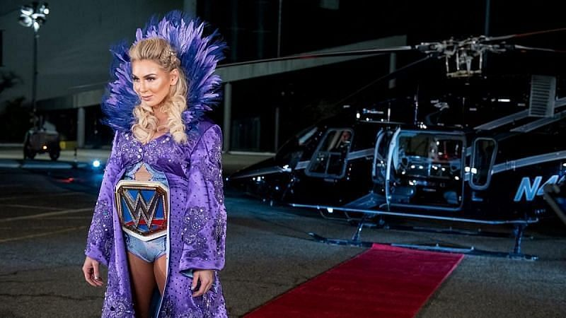 Charlotte Flair main-evented WrestleMania 35 against Becky Lynch and Ronda Rousey