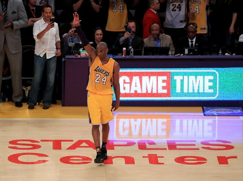 Kobe Bryant of the LA Lakers