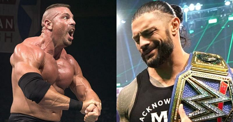 Luther Reigns and Roman Reigns.