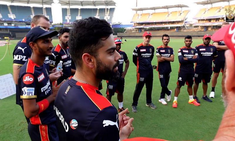 Virat Kohli was at his eloquent best in training