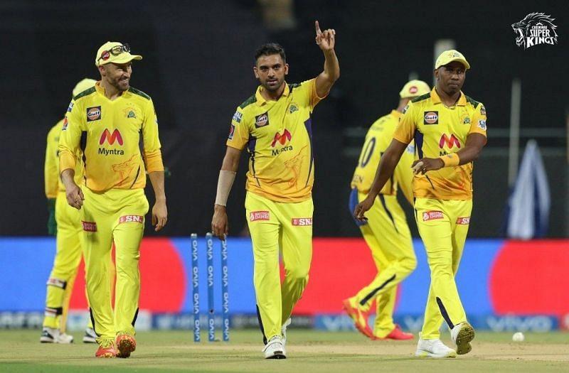 Deepak Chahar led CSK to a win against PBKS