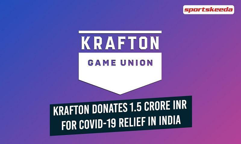 Krafton has donated a sum of 1.5 Crore INR for COVID-19 relief in India (Image via Sportskeeda)
