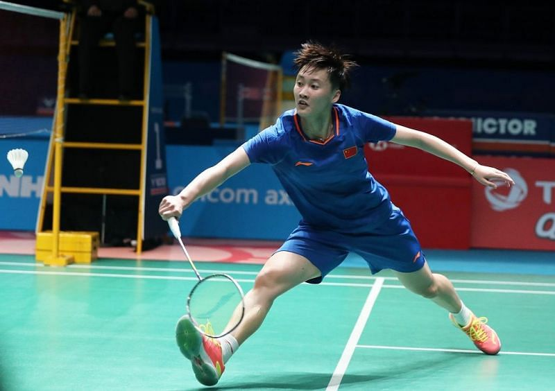Chen Yufei, Image Credit: BWF website