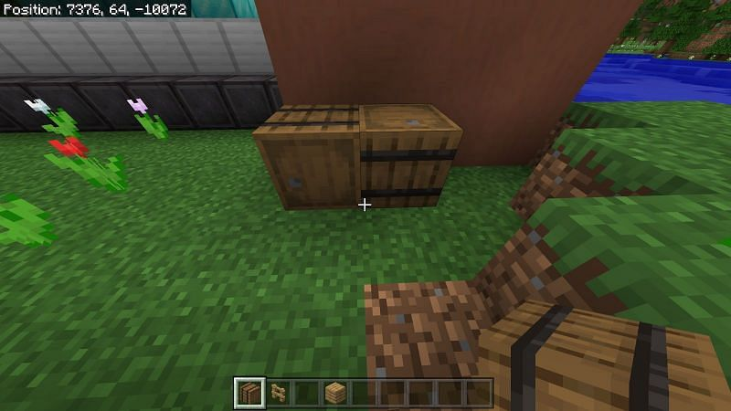 Barrels can hold 27 inventory spaces