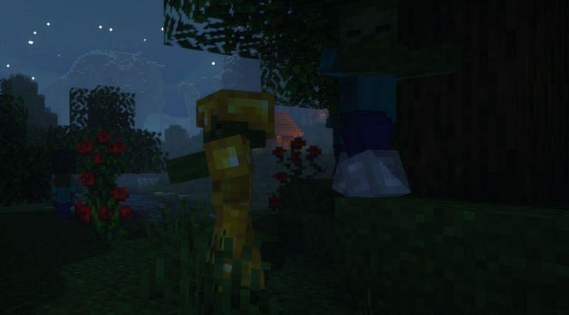 A few Zombie scavengers in Minecraft (Image via Minecraft)
