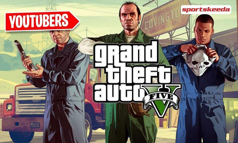 Most subscribed GTA 5 YouTubers in April 2021