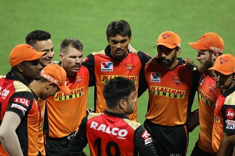 The Sunrisers Hyderabad finished at the third spot in IPL 2020 [P/C: ilpt20.com]