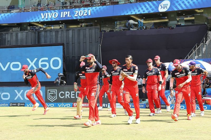 The Royal Challengers Bangalore are currently on a 4-match winning streak in IPL 2021. (Image Courtesy: IPLT20.com)