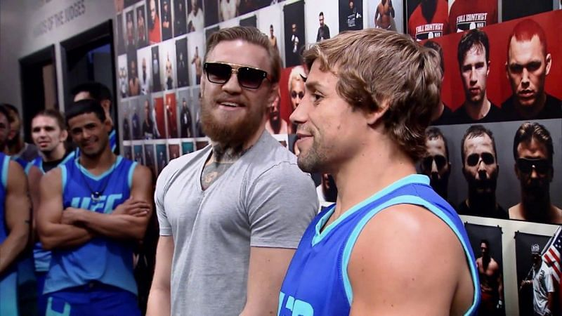 Conor McGregor and Urijah Faber were respectful, but made for entertaining TUF coaches