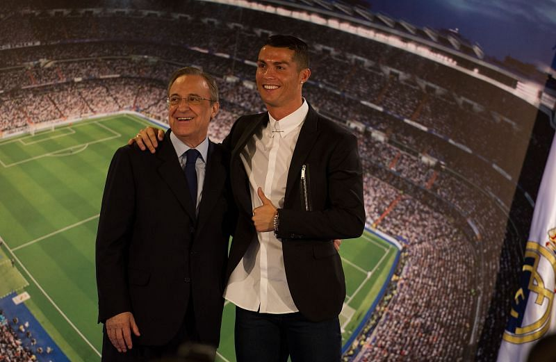 Cristiano Ronaldo left Real Madrid for Juventus in 2018