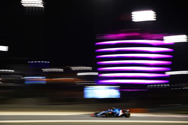 Ocon finished P13 in Bahrain. Photo: Bryn Lennon/Getty Images.