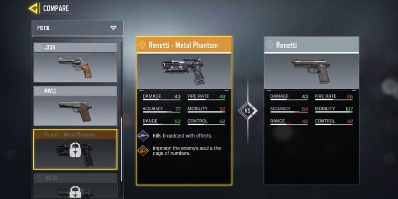 Renetti - Metal Phantom is expected to arrive in the latter half of COD Mobile Season 3 (Image via Activision)