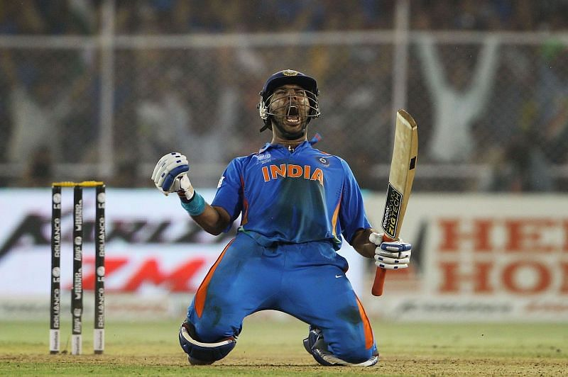 Yuvraj was adjudged the Man of the Tournament in the 2011 World Cup