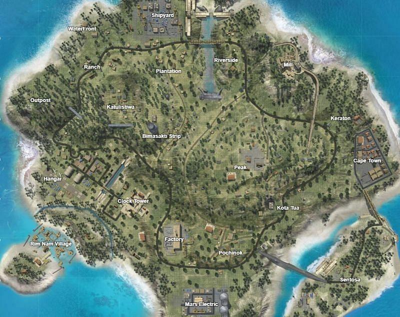 बरमूडा मैप