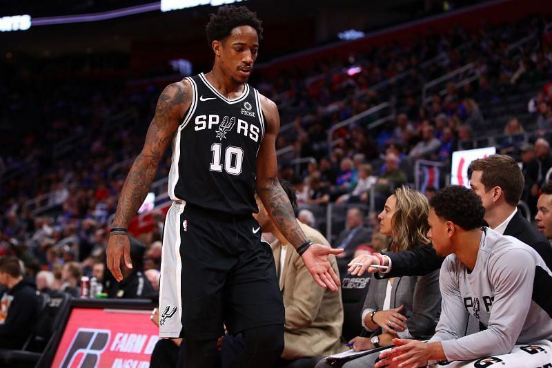 San Antonio Spurs All-Star DeMar DeRozan