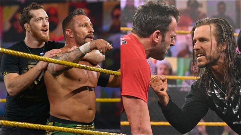 Who will win the Unsanctioned Match at WWE NXT TakeOver: Stand & Deliver?