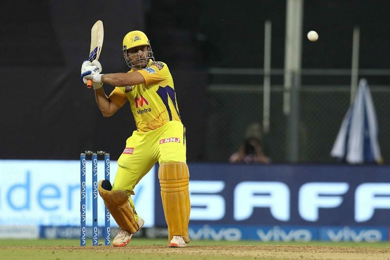 MS Dhoni managed to find form, courtesy an early free hit.