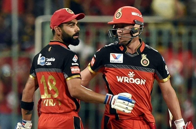 Virat Kohli and AB de Villiers are RCB