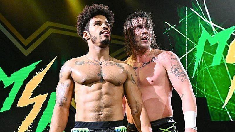 NXT Tag Team Champions MSK