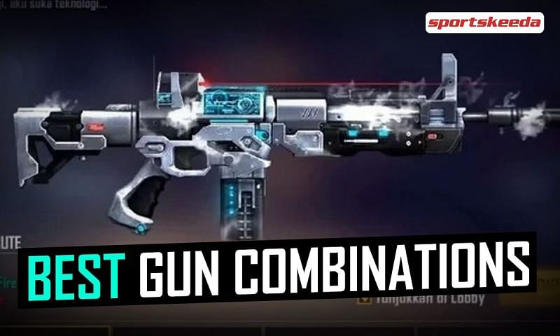 The best gun combinations for Free Fire