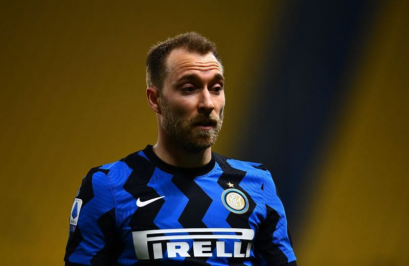 Christian Eriksen is on the brink of winning the Serie A title with Inter Milan