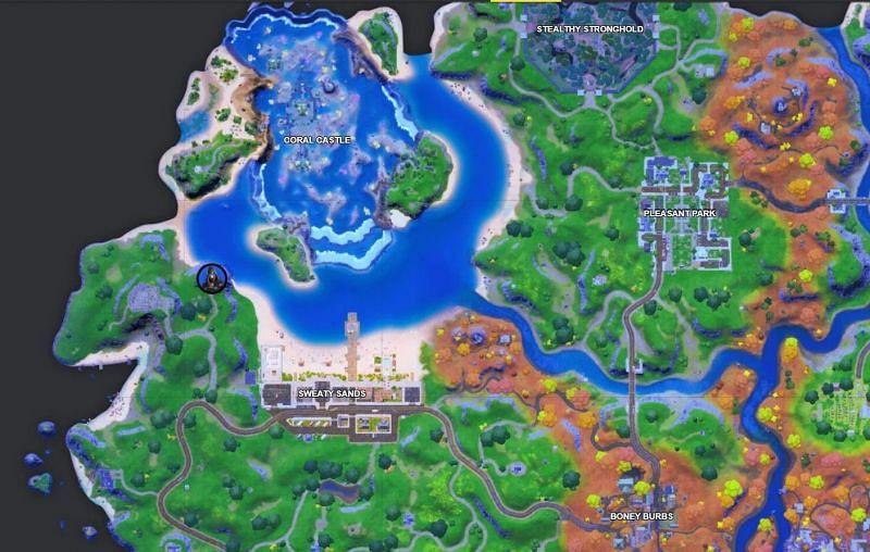 The Rebirth Raven location in Fortnite