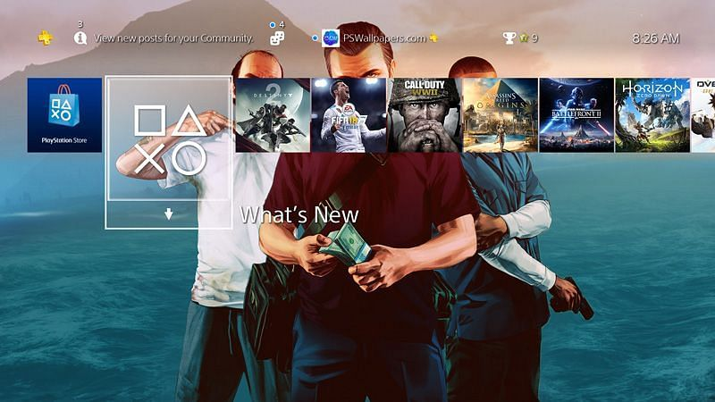GTA 5 still not available on mobile gaming platforms (Image via PlayStation Wallpapers)