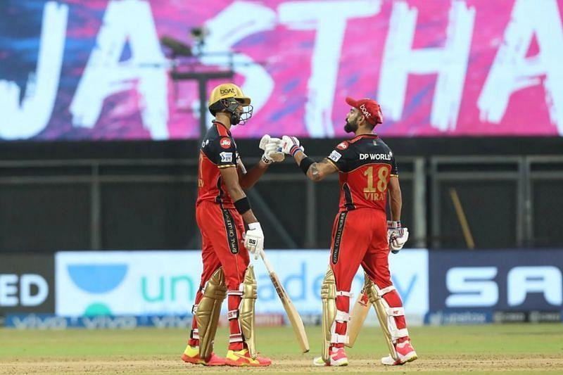 Devdutt Padikkal and Virat Kohli Pic: IPLT20.COM
