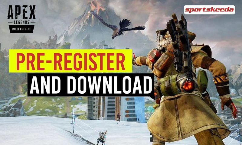 Players can pre-register and download Apex Legends Mobile for free.