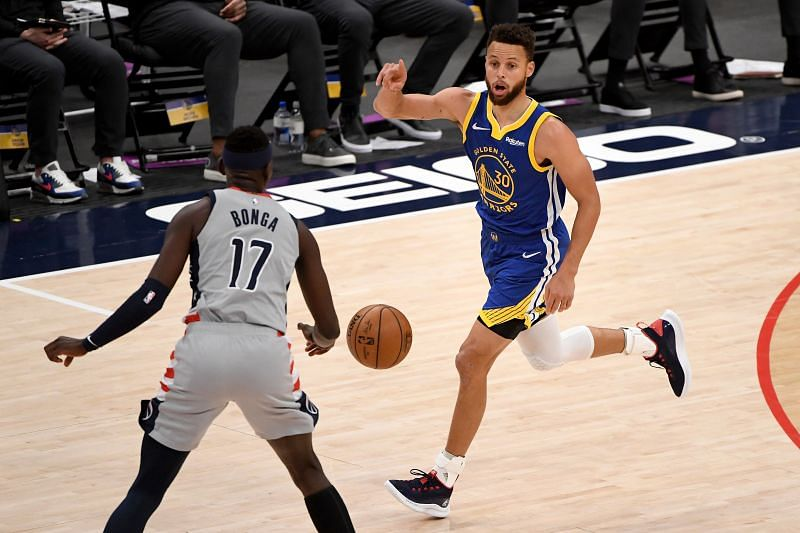 Golden State Warriors Steph Curry has been electric recently