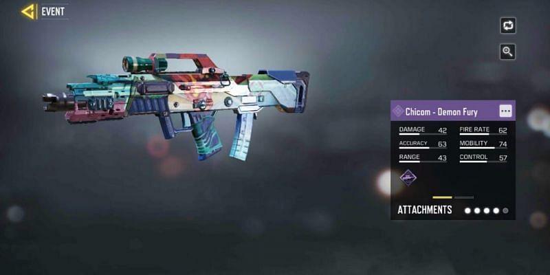 Chicom - Demon Fury is another Epic reward(Image via Activision)