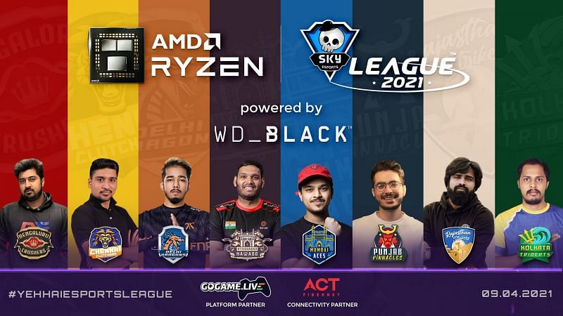Skyesports announced Valorant League 2021. (Image from Skyesports)
