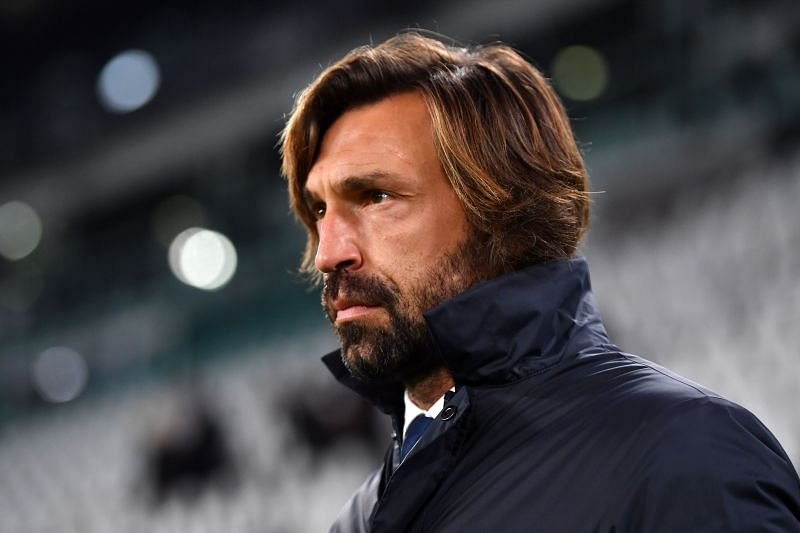 Juventus manager Andrea Pirlo (Photo by Valerio Pennicino/Getty Images)
