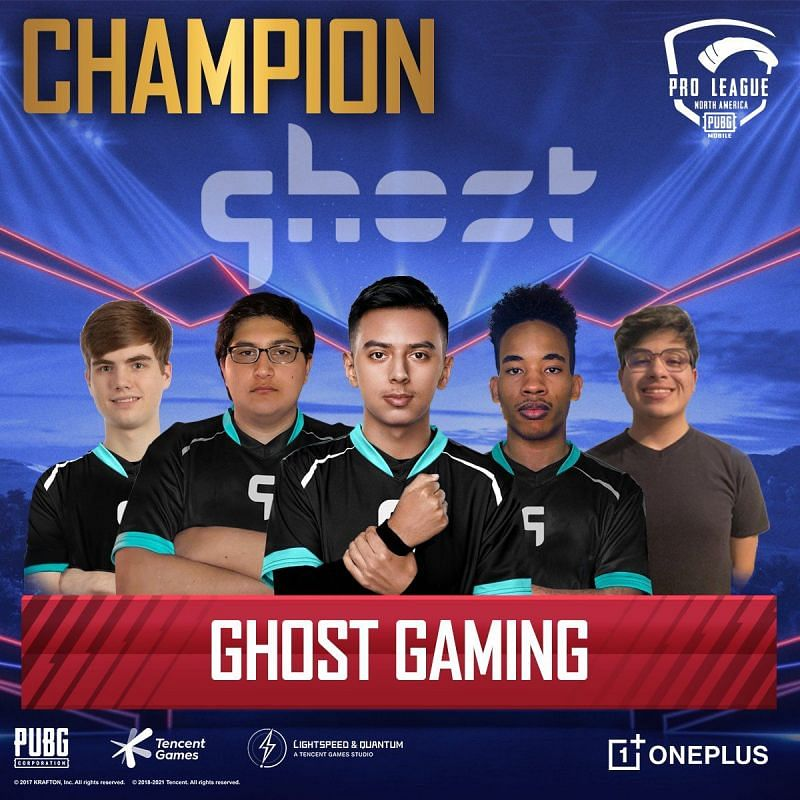 Ghost Gaming have won the PMPL S1 NA