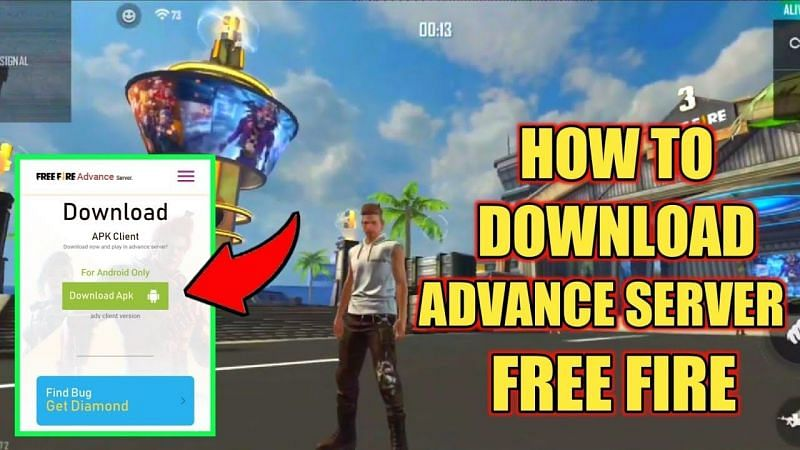 Players need an Activation Code to access the Free Fire Advance Server (Image via Mr. Dainik, YouTube)