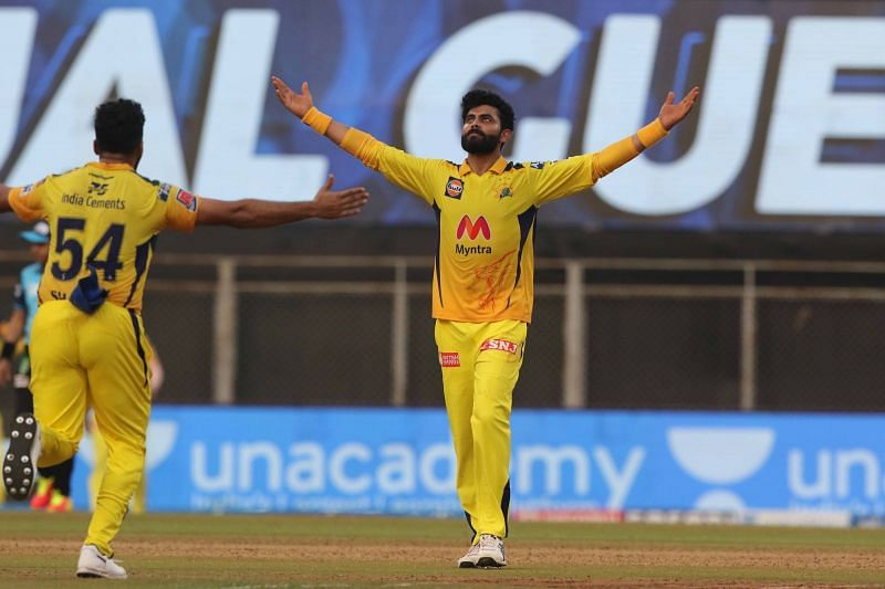 Ravindra Jadeja was electric against RCB. (Image Courtesy: IPLT20.com)