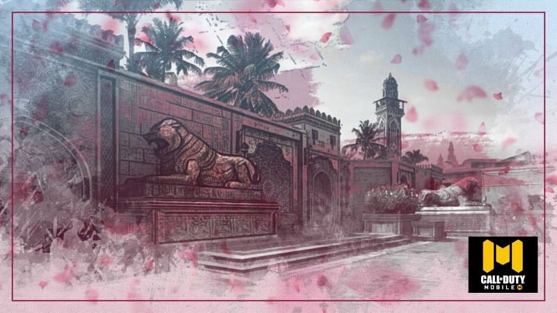 """COD Mobile teased new MP map """"Oasis"""" (Image via Activision)"""