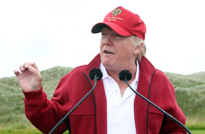 Former US President Donald Trump.
