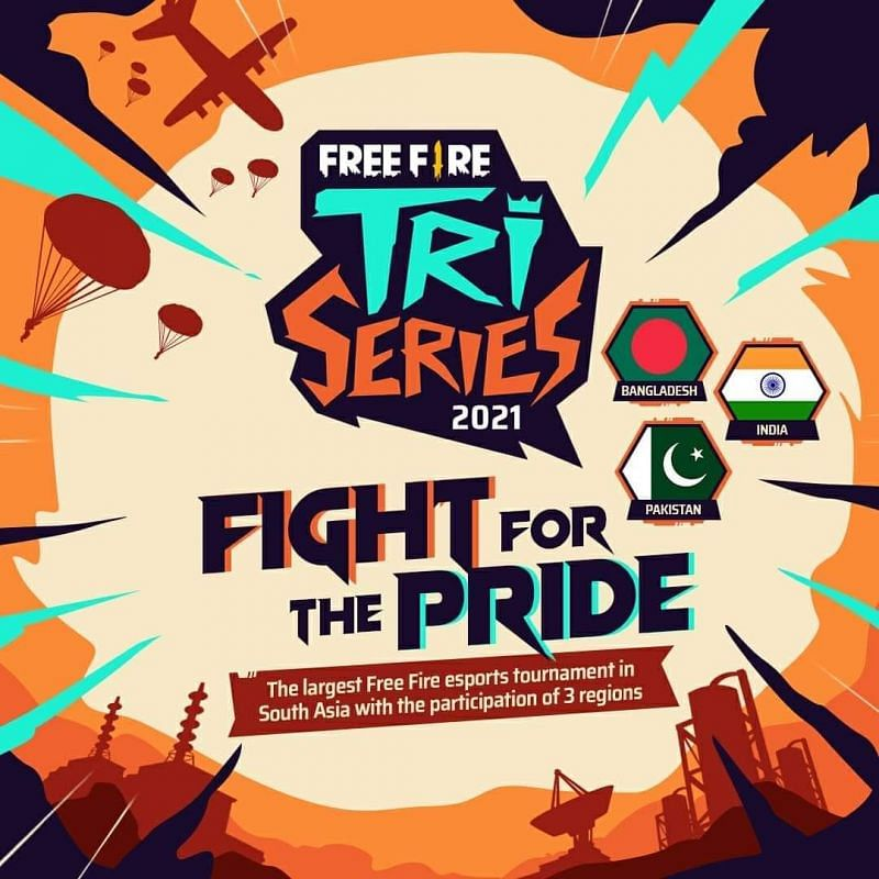 Free Fire Tri-Series 2021: Groups and schedule revealed