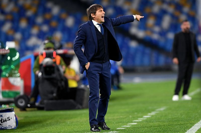 Antonio Conte is leading Internazionale to the Serie A title.
