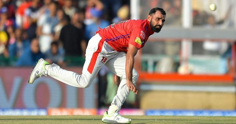 Mohammed Shami in action in the IPL (Credits: AFB/Hussain)