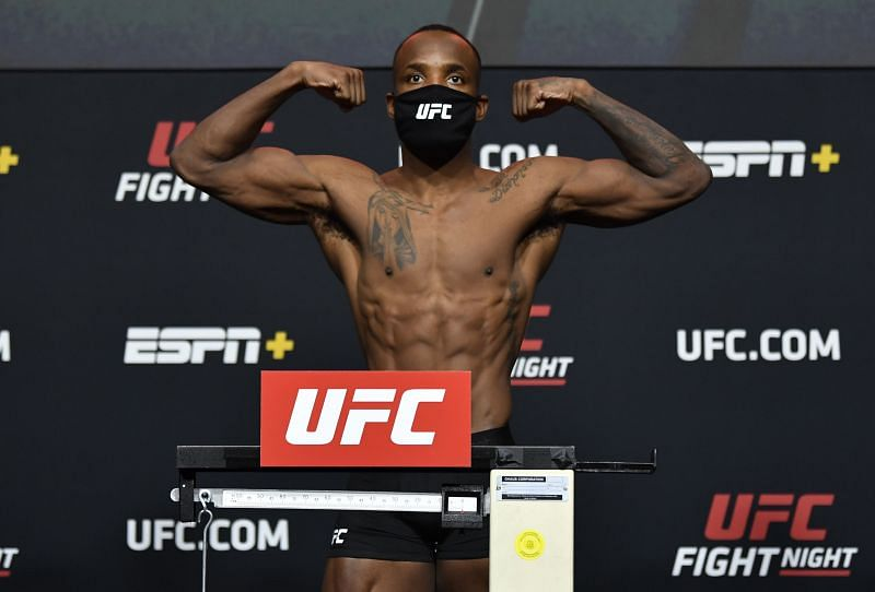 Leon Edwards lost 12lbs in four days after contracting COVID-19.