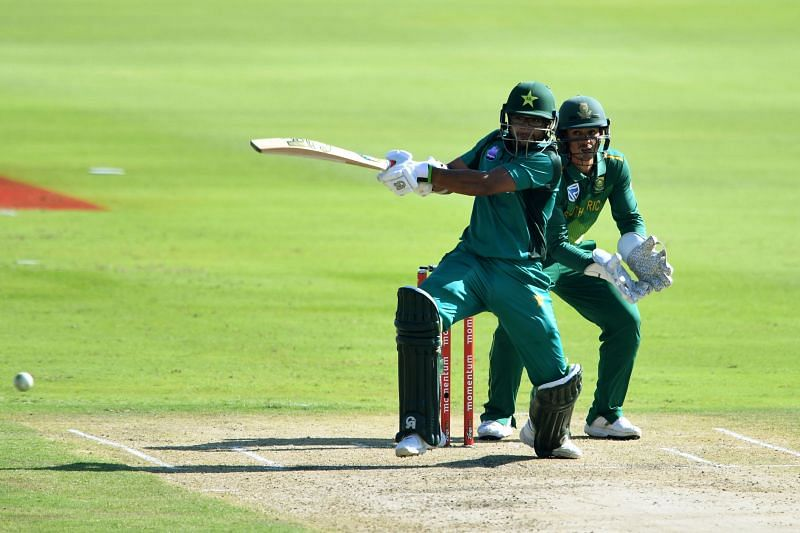 Imam-ul-Haq scored a century for Pakistan at SuperSport Park in January 2019