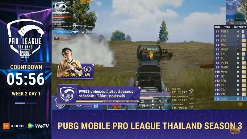 PMPL Season 3 Thailand