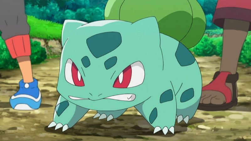 Bulbasaur in the anime (Image via The Pokemon Company)