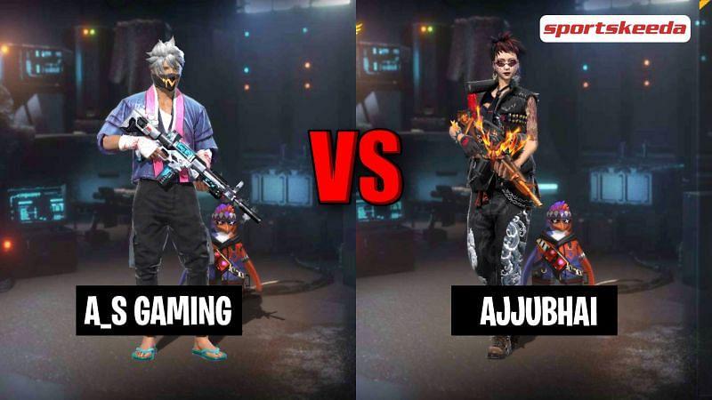 Garena Free Fire: A_S Gaming vs Ajjubhai