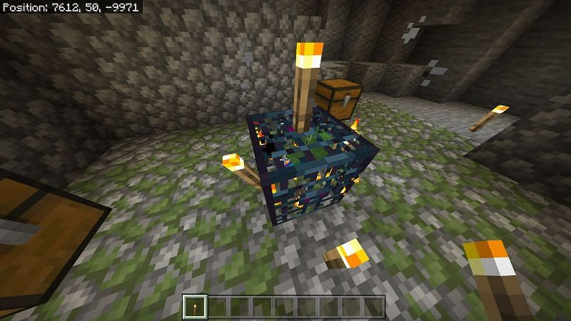Structure of Dungeons in Minecraft