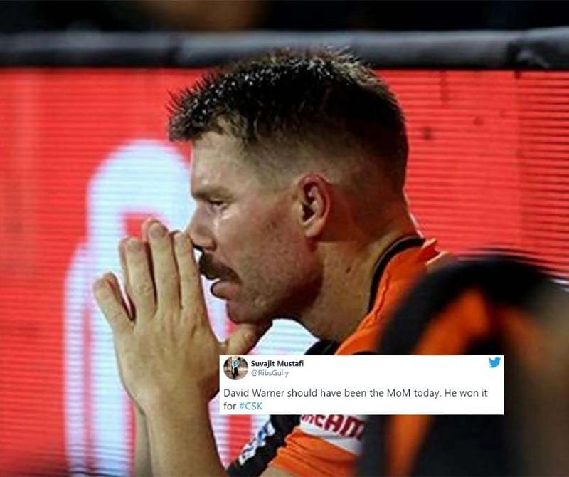 David Warner faced a lot of heat from Twitterati after SRH