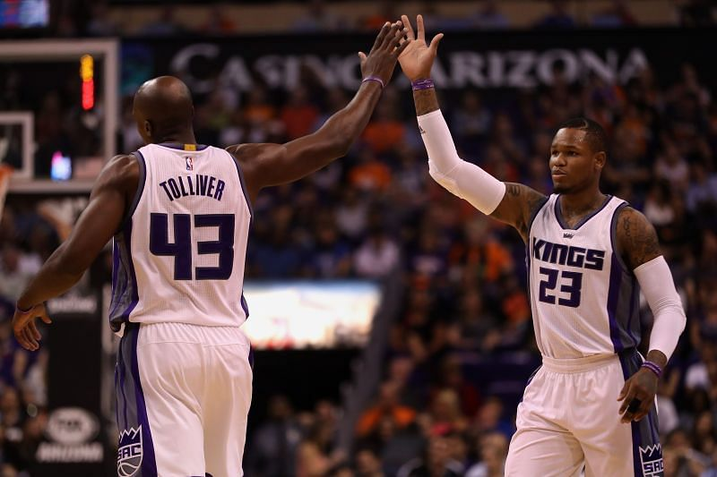 Ben McLemore (right) made his debut in the NBA with the Sacramento Kings.
